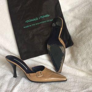 Donald J. Pliner Shoes - Tan Mules from Donald Pliner.